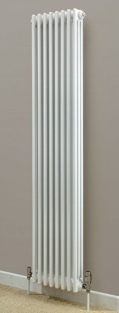 Cheshire Radiators Kingsley 2 Column Vertical Steel Radiator in white Cast Iron Radiators - Period Radiators, Traditional Radiators, Designer Radiators, Contemporary Radiators, Modern Radiators UK Tall Radiators, Vertical Radiators, Column Radiators, Cast Iron Radiators, Contemporary Radiators, Traditional Radiators, Modern Radiators, Kitchen Radiator, Grey Kitchen Designs