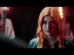 The first #Shadowhunters footage.  Don't like Jace, don't like Clary (her voice is way squeaky).  And what was up with her having a rune and then disappearing?!