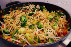 Zeleninové noodles - Recept