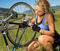 Bike maintenance tips and advice. 25 fixes for bicycle problems from Fitbie