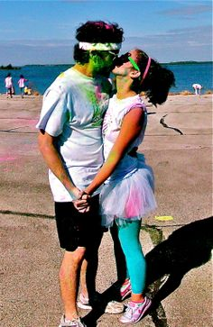 Color run! One more it check off our bucket list thats forever-growing! <3