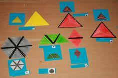 I triangoli costruttori Montessori