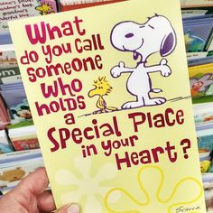 CollectPeanuts.com on Facebook - Say it with Snoopy! Today's a great day to tell someone how much you care about them. Let them know with this card.