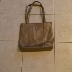 $ 10 SALE The Sak Gold Vegan Bag Overall good condition a couple marks outside inside is clean The Sak Bags Shoulder Bags