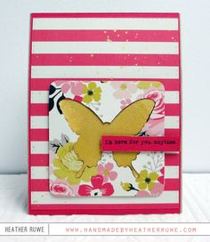 Created by Heather Ruwe using the October 2015 card kit by Simon Says Stamp