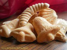 Dobrou chuť: Rakvičkové cukroví Candy Recipes, Sweet Recipes, Baking Recipes, Holiday Recipes, Snack Recipes, Dessert Recipes, Snacks, Xmas Food, Christmas Sweets