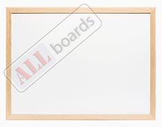 Tablica suchościeralna magnetyczna biała (rama drewniana) 180x100 cm ALLboards e-shop