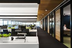 Arnold Lane has developed a new office design for IT provider Interactive located in Melbourne, Australia.