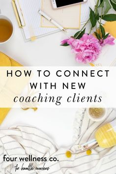 How To Connect With New Coaching Clients | Entrepreneur Tips - Are you wondering where you will find interested clients for your wellness business to succeed? Click to learn six ways to find and connect with health coaching clients who are motivated to work with you as their health coach. | Health Coaching Business | How To Attract New Clients | Online Business Tips | Marketing Strategy | Four Wellness Co. #healthcoach #wellnessbusiness #entrepreneur #marketing #success #smallbusiness Healthy Lifestyle Tips, Lifestyle Group, Business Tips, Online Business, Facebook Support, Dream Career, Healthy Diet Plans, Online Coaching, Digital Marketing Strategy