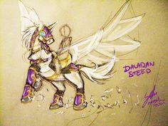 Pegasus concept sketch by Noxychu.deviantart.com on @DeviantArt