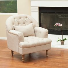 Best Selling Home Decor Furniture Bryce Tufted Chair - Sand - The Best Selling Home Décor Furniture Bryce Tufted Chair – Sand is a great addition to bring into your home. This piece comes in a beauti...