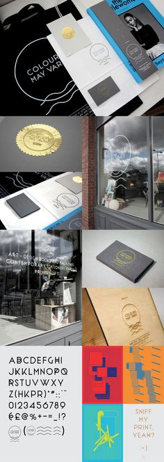 Colours May Vary — Design Store Identity, branding and retail.
