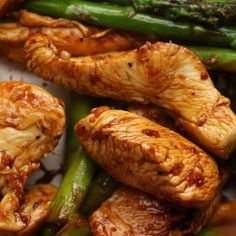 Lemon Chicken And Asparagus Stir-Fry (Under 500 Calories) Recipe by Tasty