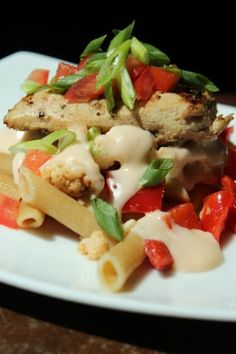 Healthy Chicken and Mac and Cheese from FitnessRidge.com