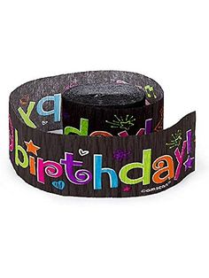Neon Birthday Streamer (Each) - Decorations Party Supplies Birthday Streamers, Neon Birthday, Party Streamers, Girl Birthday Themes, 30th Birthday Parties, 13th Birthday, Birthday Celebration, Birthday Ideas, Roller Skating Party