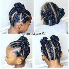 hairstyles little girl hairstyles with bangs for black hair hairstyles video tutorial hairstyles going up hairstyles hairstyles rasta hairstyles straight hair braided hairstyles Little Girl Braid Styles, Kid Braid Styles, Little Girl Braids, Braids For Kids, Children Braids, Kid Braids, Tree Braids, Ghana Braids, Little Girls
