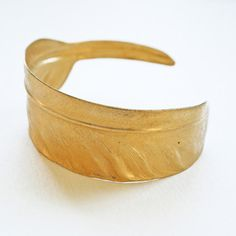 Feather Cuff now featured on Fab. - for christmas party