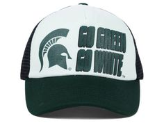 Michigan State Spartans Top of the World NCAA Spittin Foam Trucker Cap Hats  Michigan State Spartans 8c5a1b3bf
