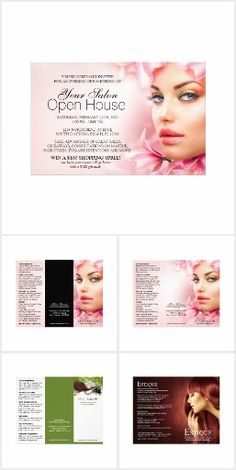 Salon And Spa Flyers And Brochures