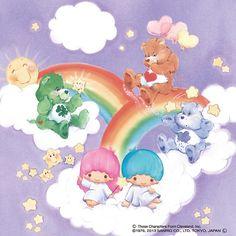 Care Bears x LittleTwinStars/Kiki&Lala. The perfect crossover!
