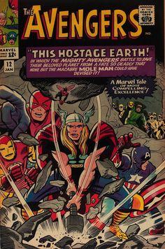 Cap'n's Comics: Coupla Jack Kirby Covers