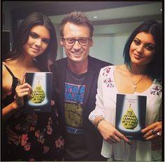 """Ken Baker: """"Keeping up with my #howigotskinnyreaders @Kendall Jenner @Kylie Jenner #lovethem"""""""