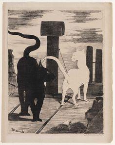 Edouard Manet, The Cats' Rendezvous Le Rendez-vous des Chats  1868 on ArtStack #edouard-manet #art