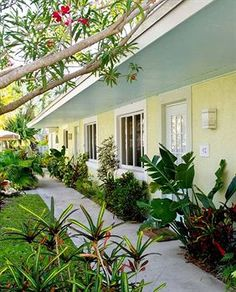 This is where we stayed! Palm Tree Villas, Holmes Beach, Florida, love it!!!