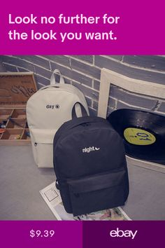 8a29c9ed943 New Fashion Women Mens STUSSY Backpack Canvas Shouder Bags Messenger ...