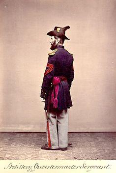 American Civil War Enlisted Uniforms - Artillery Quartermaster Sargeant