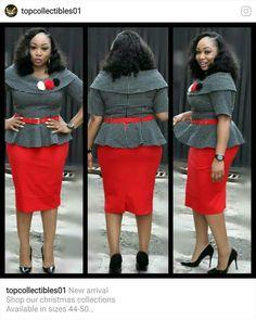 African Formal Dress, African Dresses For Women, African Print Dresses, African Attire, African Wear, African Fashion Dresses, Fashion Outfits, Corporate Wear, Womens Dress Suits