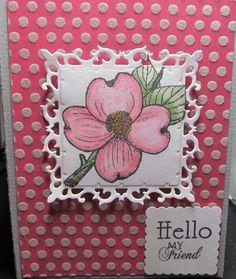 Nice flower card