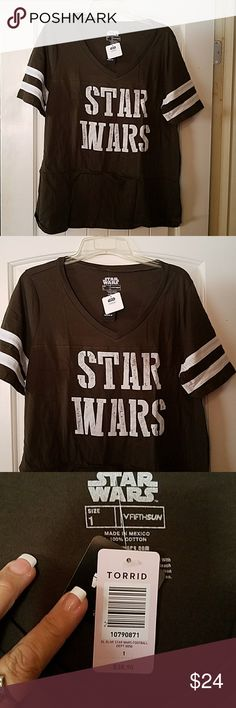 Torrid Star Wars T SHIRT 1X Brand New with tags Torrid  Tops Tees - Short Sleeve