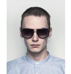 e77a02f656 Mach One Men s Aviator-Frrame Metal Sunglasses