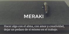 Griego: meraki