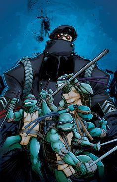 TMNT #7 (IDW) – Variant Covers | TMNT – Teenage Mutant Ninja Turtles