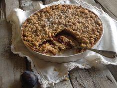 A legjobb szilvás pite | Mai Móni Food Crush, Biscotti, Tiramisu, Quiche, Oatmeal, Food And Drink, Pie, Sweets, Cookies