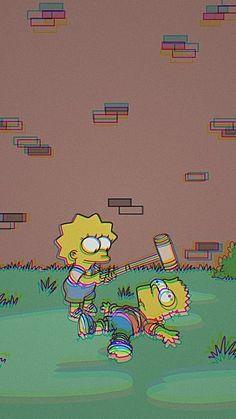 Simpsons aesthetic wallpaper new Ideas Simpson Wallpaper Iphone, Cartoon Wallpaper Iphone, Mood Wallpaper, Trendy Wallpaper, Pastel Wallpaper, Cute Wallpaper Backgrounds, Tumblr Wallpaper, Aesthetic Iphone Wallpaper, Disney Wallpaper