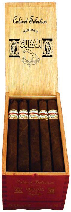 Cigars Factory Direct - Cuban Crafters Cabinet Selection Churchill Cigar - 25 In…