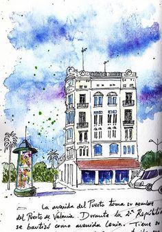 Edificio avenida del Puerto by Josep Castellanos, via Flickr