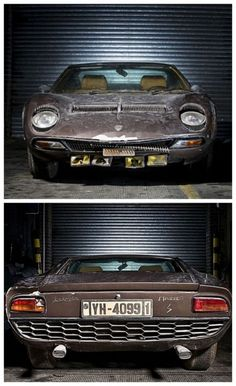 Aristotle Onassis Lamborghini Miura found in a old barn. What's sitting in your garage?