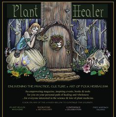 Plant Healer - an empowering magazine, inspiring events, books & tools for you on your personal path of healing & wholeness