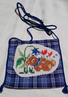 Tasche mit Kreuzstich
