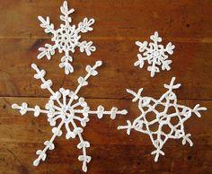 Sneeuwvlokjes haken - Haken, ontwerpen, fotografie en meer