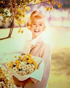 Doris Day, please don't eat the daisies.