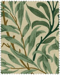 Textil Willow Boughs Cream/Green från William Morris & Co
