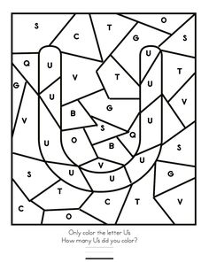 Free Printable letter U tracing worksheets for preschool. Free connect the dots alphabet printable worksheets for kids. Letter Worksheets For Preschool, Preschool Letters, Tracing Worksheets, Alphabet Worksheets, Kindergarten Worksheets, Coloring Worksheets, Printable Worksheets, Printable Coloring, Letter U Crafts