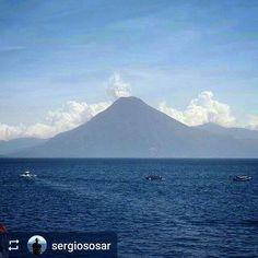 From @sergiososar: Good morning from #LakeAtitlan #Guatemala #ILoveAtitlan #AmoAtitlan #Travel http://OkAtitlan.com