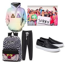 """Sorry"" by lord-of-swagger on Polyvore featuring Vans"