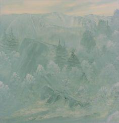oil on canvas, 100x100cm. Oil On Canvas, Canvas Art, Berlin, Impressionism Art, Mists, Buy Art, Winter, Saatchi Art, Original Art